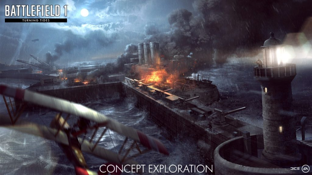 Battlefield I: Turning Tides – рисунки к анонсу!