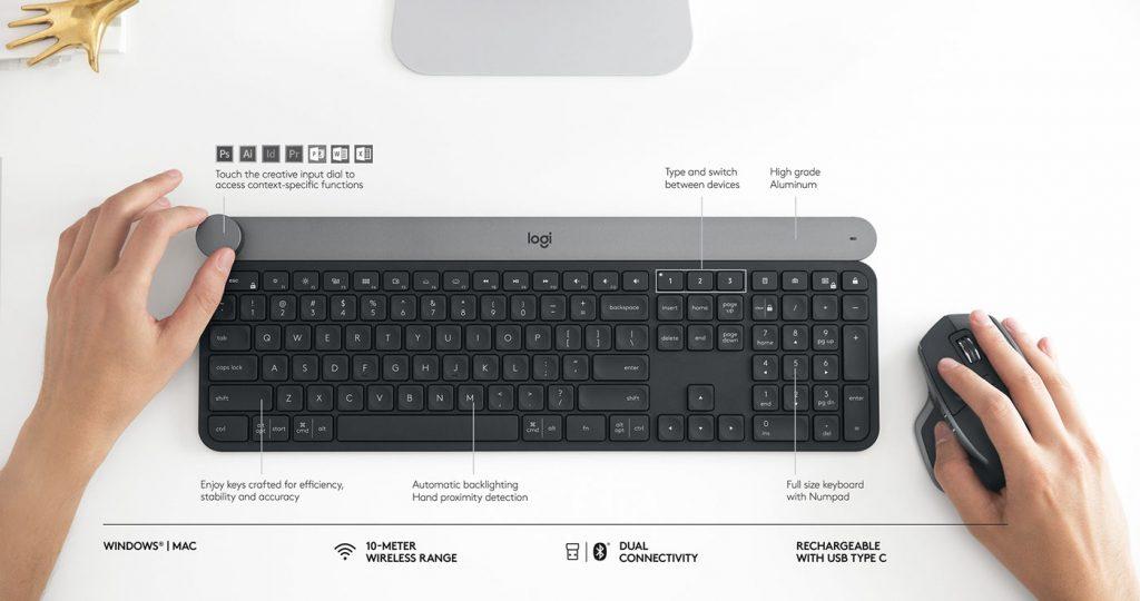 Вещь дня: клавиатура Logitech Craft