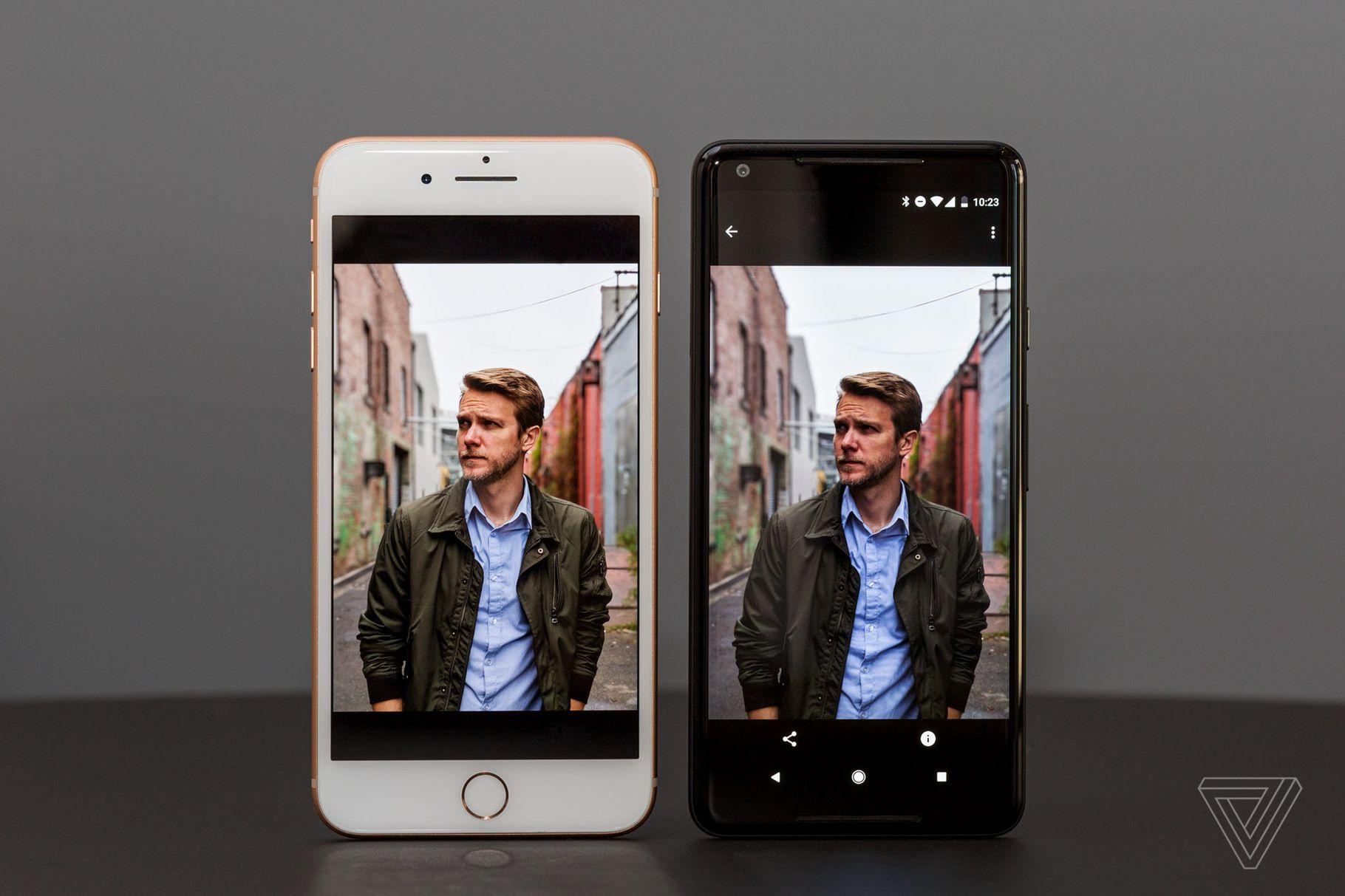 Журналисты критикуют Pixel 2 и Pixel 2 XL за плохой экран