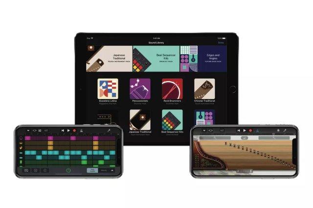 Apple обновляет GarageBand с новым звуковым пакетом