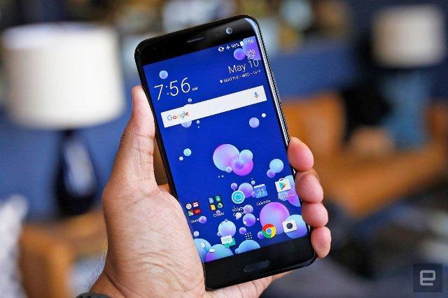 HTC U11 - один из первых телефонов, отличных от Google, что получит Android Oreo