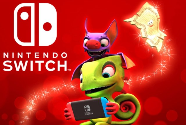 Игра «Yooka-Laylee» появится для Nintendo Switch 14 декабря