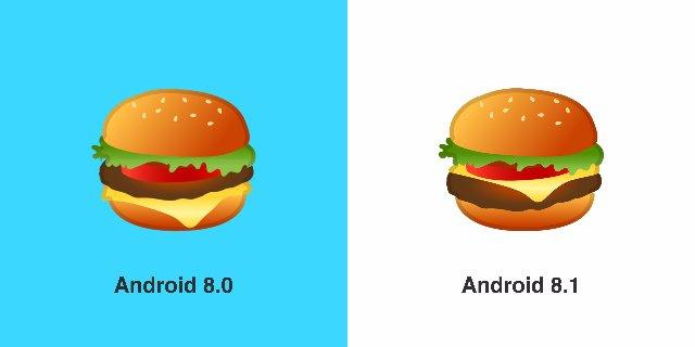 Google, наконец, исправляет emoji бургера