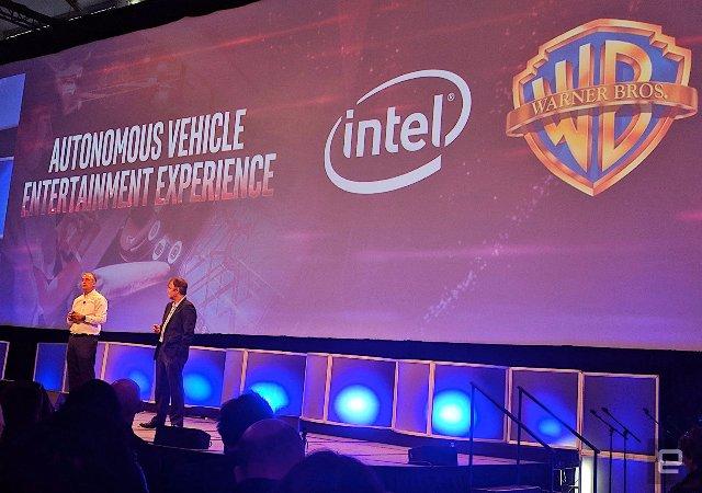 Intel хочет сделать автономные автомобили более интересными