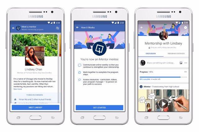 Новые инструменты сообщества Facebook помогут вам стать наставником