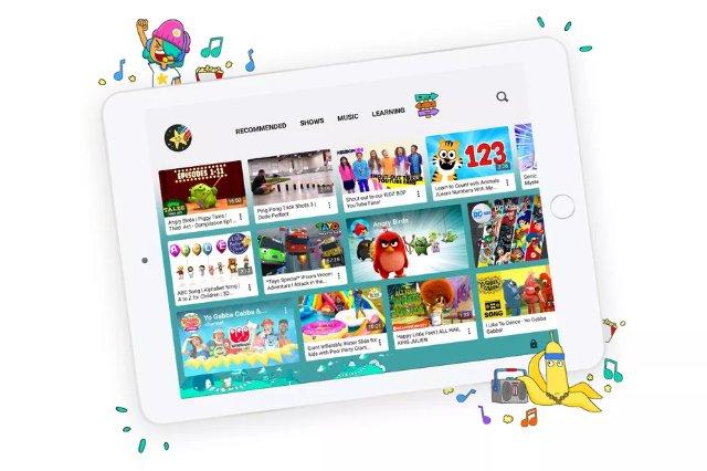 YouTube Kids обновляется новым дизайном и детскими профилями