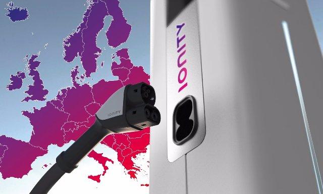 Известные автомобильные компании создают партнерство для европейской сети зарядки электрокаров