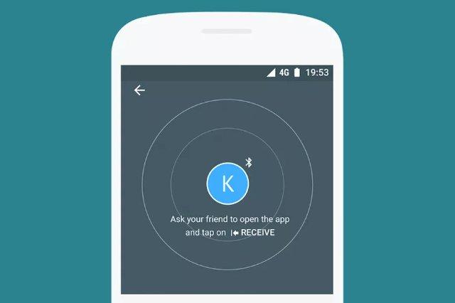 Приложение Google Files Go для Android похоже на AirDrop.