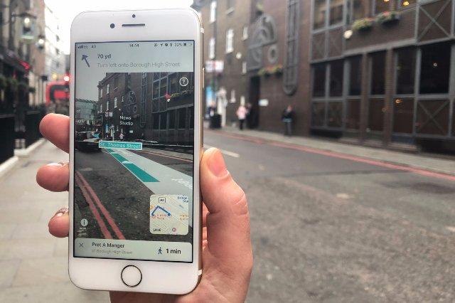 Приложение навигации AR обещает лучшую точность, чем GPS