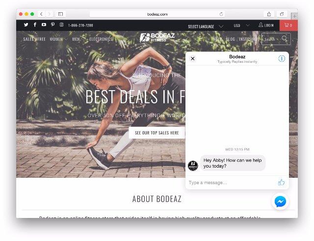 Плагин Facebook Messenger обеспечивает кросс-платформенное обслуживание клиентов