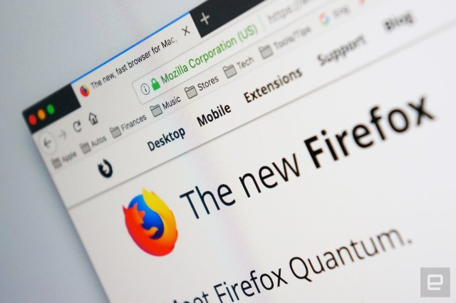 Firefox Quantum готов ускорить просмотр веб-страниц