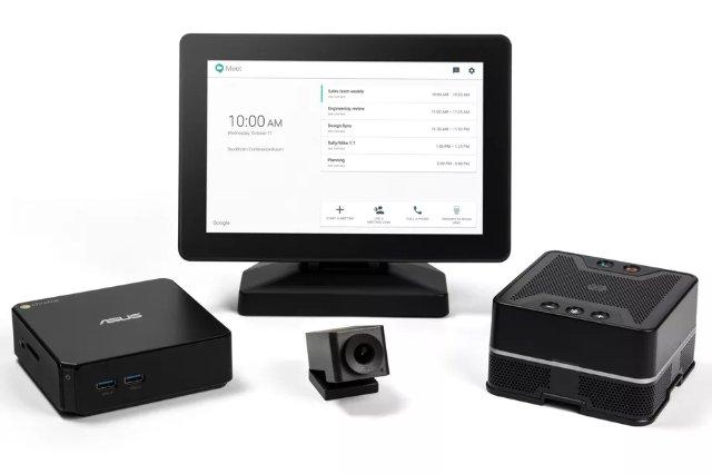 Google представила аппаратное обеспечение, чтобы заменить ужасную систему видеозвонков в офисе