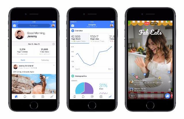 Приложение Facebook Creator поможет видео «звездам» создать больше «контента»