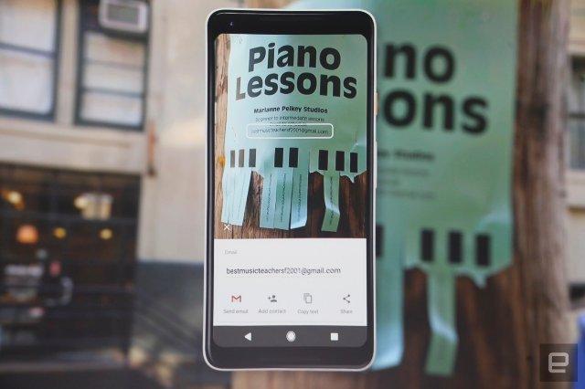 Google Lens подключается к Assistant  на телефонах Pixel
