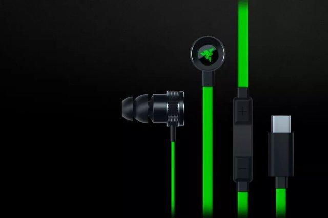 Razer запускает неоновые зеленые наушники USB-C Hammerhead