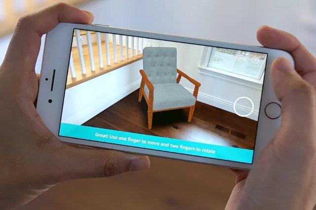Приложение Amazon теперь позволяет размещать предметы внутри вашего дома, используя AR