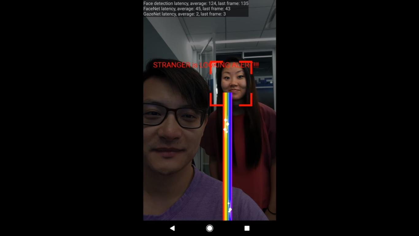 ИИ Google знает, когда незнакомец смотрит в ваш телефон