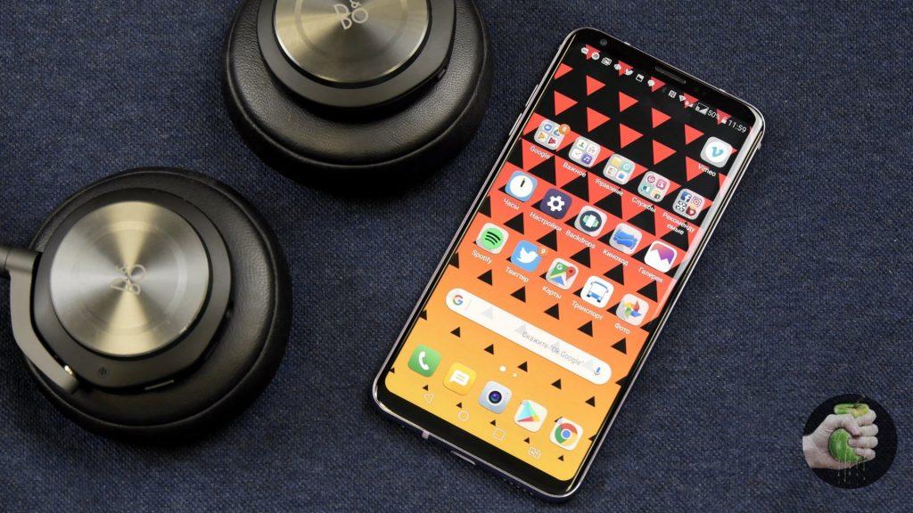 Обзор LG V30: безрамочный флагман с идеальным звуком
