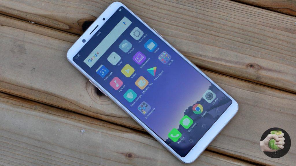 Обзор Oppo F5: фанат безрамочной моды