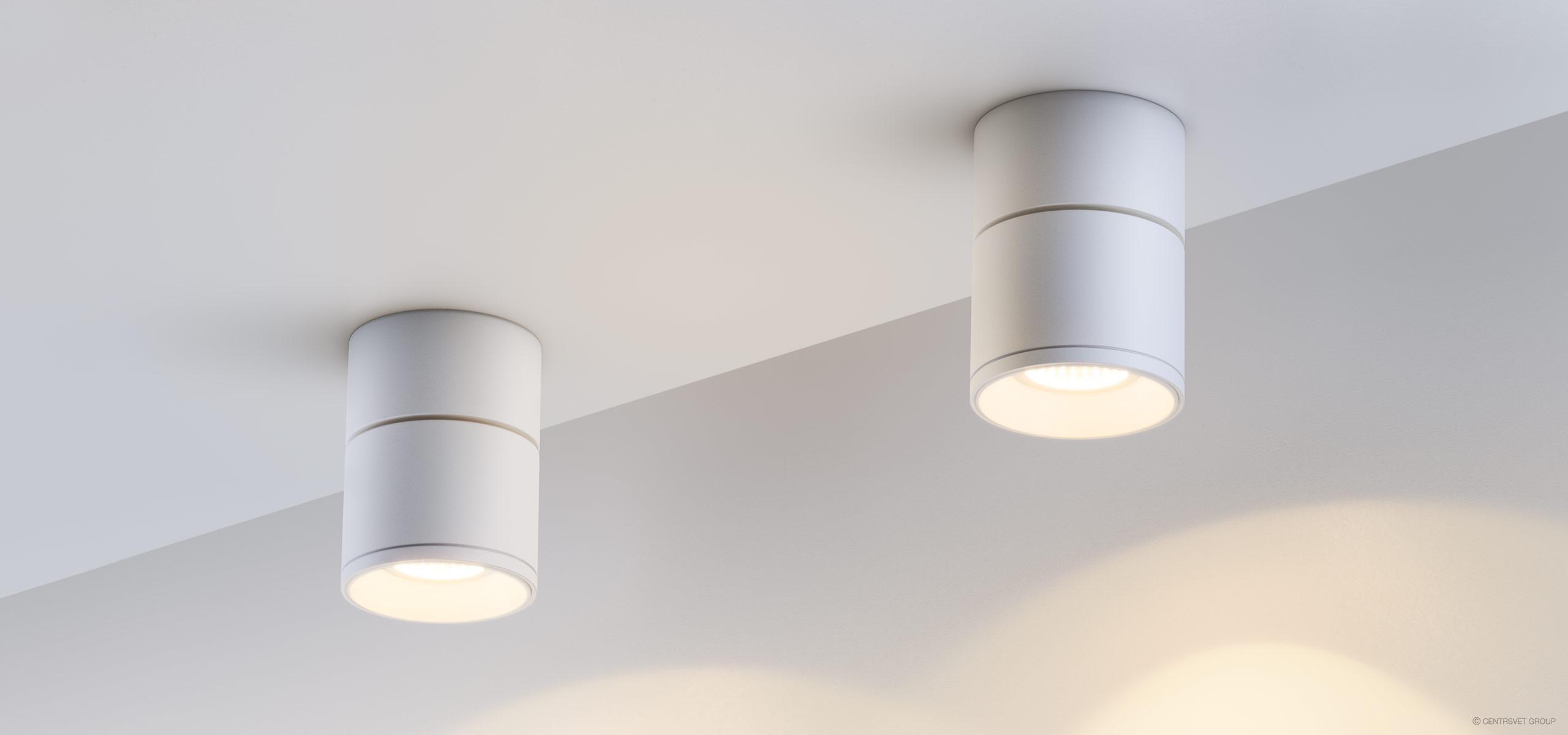 Обзор современных потолочных светильников