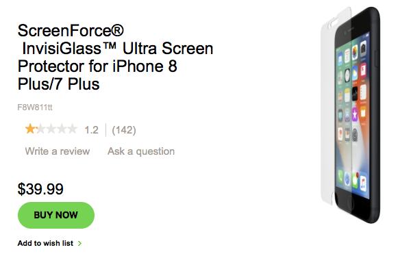 Не покупайте это дорогое и бесполезное стекло для защиты iPhone