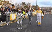 Робот-гуманоид пронес Олимпийский факел в Южной Корее