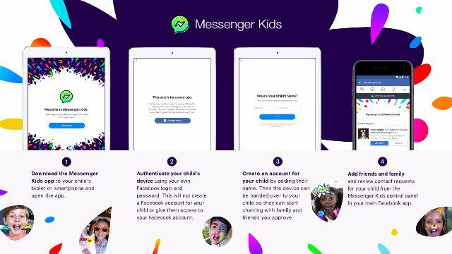 Facebook в США запускает приложение Messenger только для детей