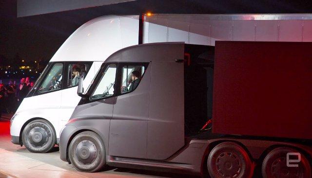 PepsiCo предзаказывает 100 электрических грузовиков Tesla