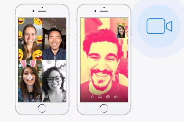 Facebook Messenger удваивает количество видеочатов до 17 миллиардов в 2017 году