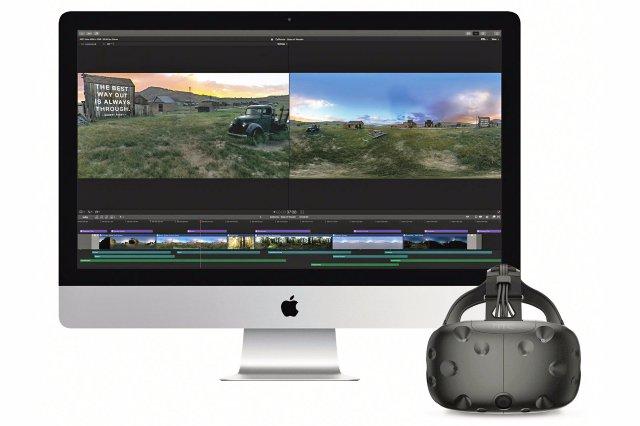 Apple Final Cut Pro X готова отредактировать видео VR