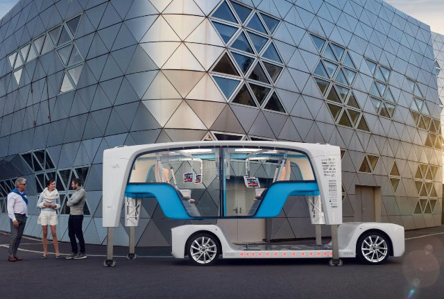 Rinspeed представила свою концепцию автономного автомобиля будущего