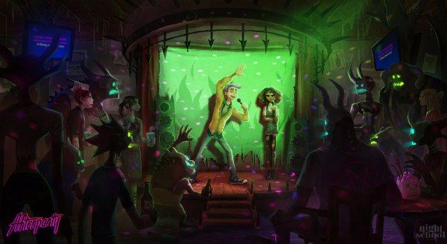 Следующая игра от разработчиков «Oxenfree» - это пить с сатаной