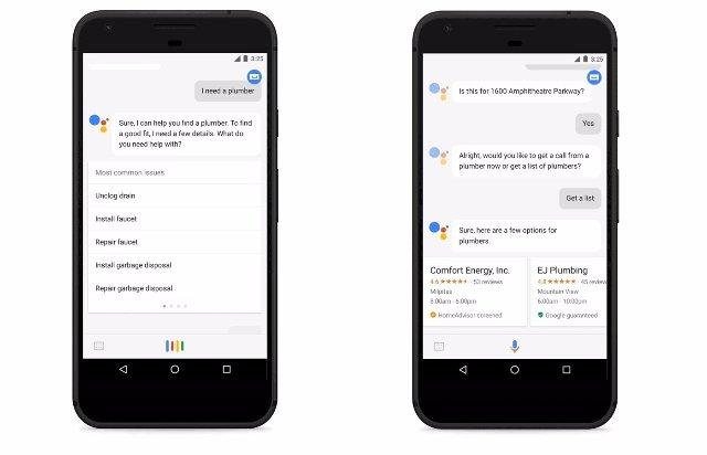 Google Assistant скоро сможет рекомендовать местные домашние услуги