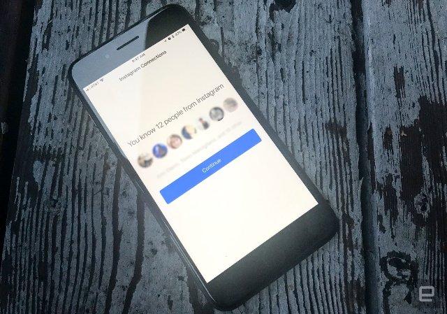 Теперь появилась возможность импортировать контакты Instagram в Facebook Messenger
