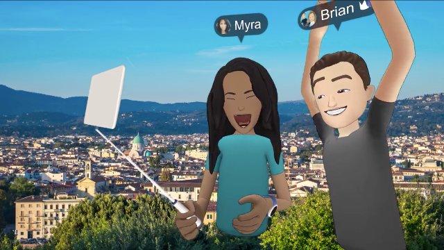 Facebook приносит свои социальные VR 'Spaces' в HTC Vive
