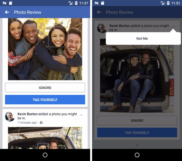 Facebook будет предупреждать вас, когда кто-то загружает вашу фотографию