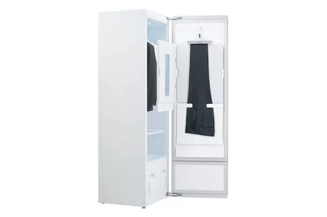 Шкаф для паровой очистки от LG теперь имеет семейный размер