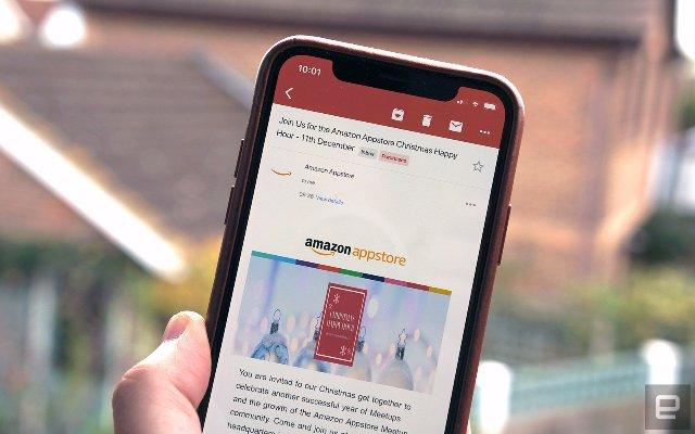 Google объявляет о выпуске обновления Gmail для iPhone X