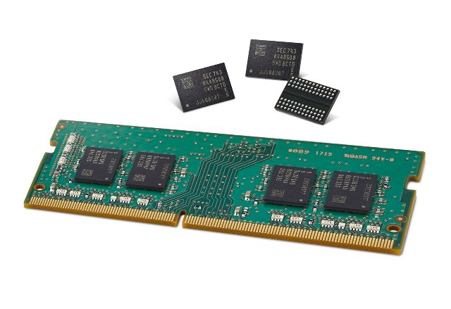 Более быстрые и компактные чипы DRAM от Samsung поступят на ваш следующий ПК