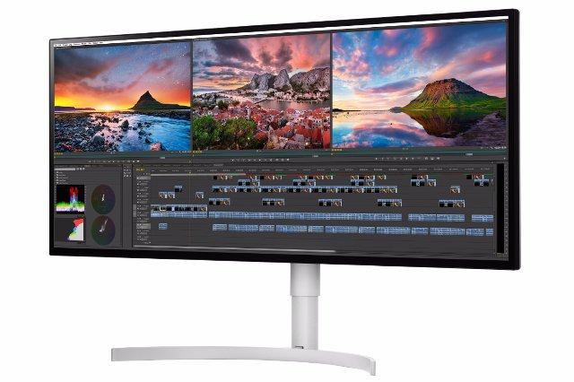 Последние мониторы ПК от LG обеспечивают интенсивный HDR и ультраширокий 5K
