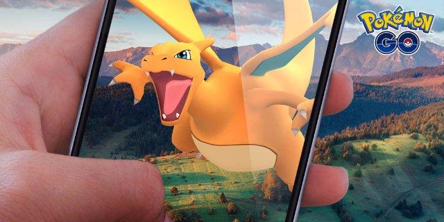 Charizard будет выглядеть в натуральную величину с обновлением «Pokémon Go» AR +