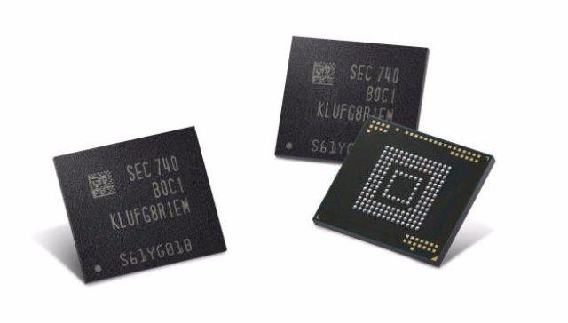 512-гигабайтный чип Samsung сделает ваш телефон персональным компьютером