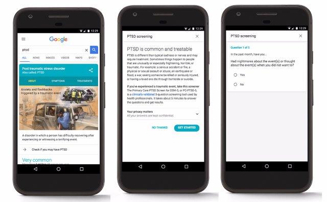 Тест от Google поможет диагностировать ПТСР