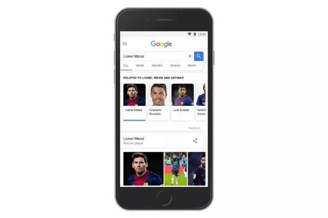 Обновленный поиск Google затащит вас в паутину информации