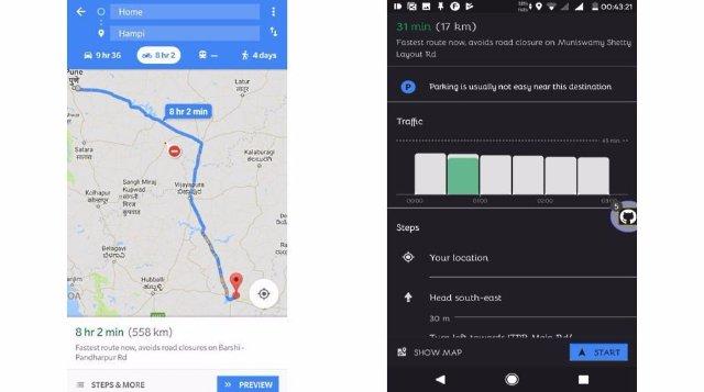 Google Maps вводит ярлык для мотоциклистов в Индии