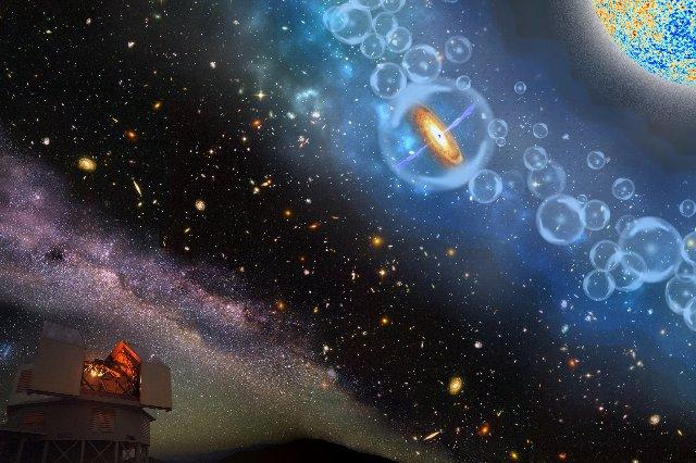 Самая дальняя сверхмассивная черная дыра обнаруживает раннюю вселенную