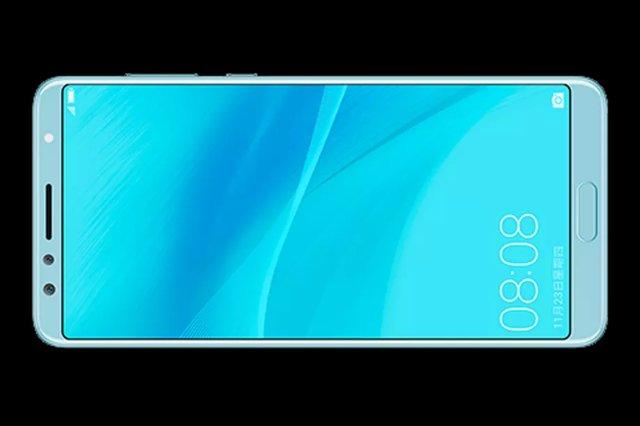 Утечка Nova 2S от Huawei показывает кнопку Нome, которая едва помещается на тонкой рамке
