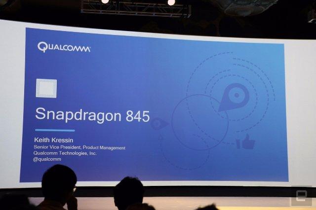 Qualcomm представляет новый чип Snapdragon 845