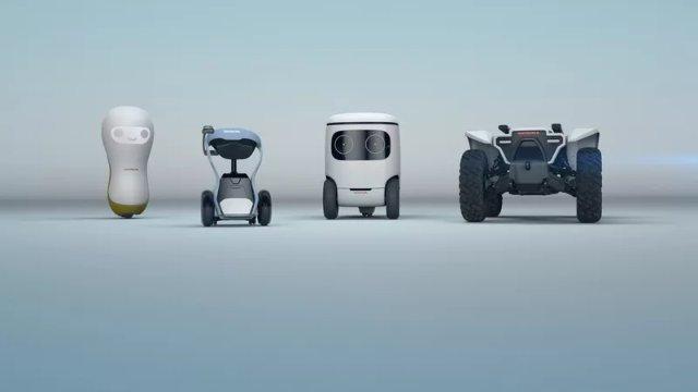 Honda представила концепт роботов-помощников
