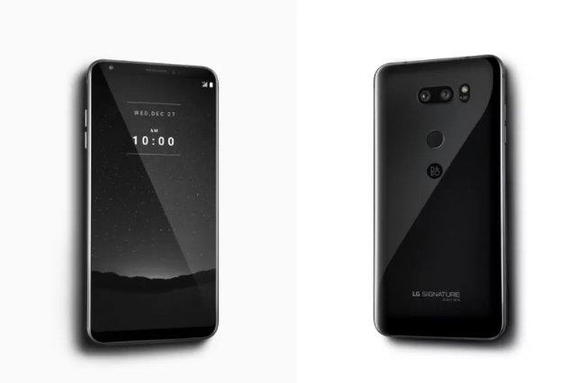 LG представила керамический телефон стоимостью 1800 долларов
